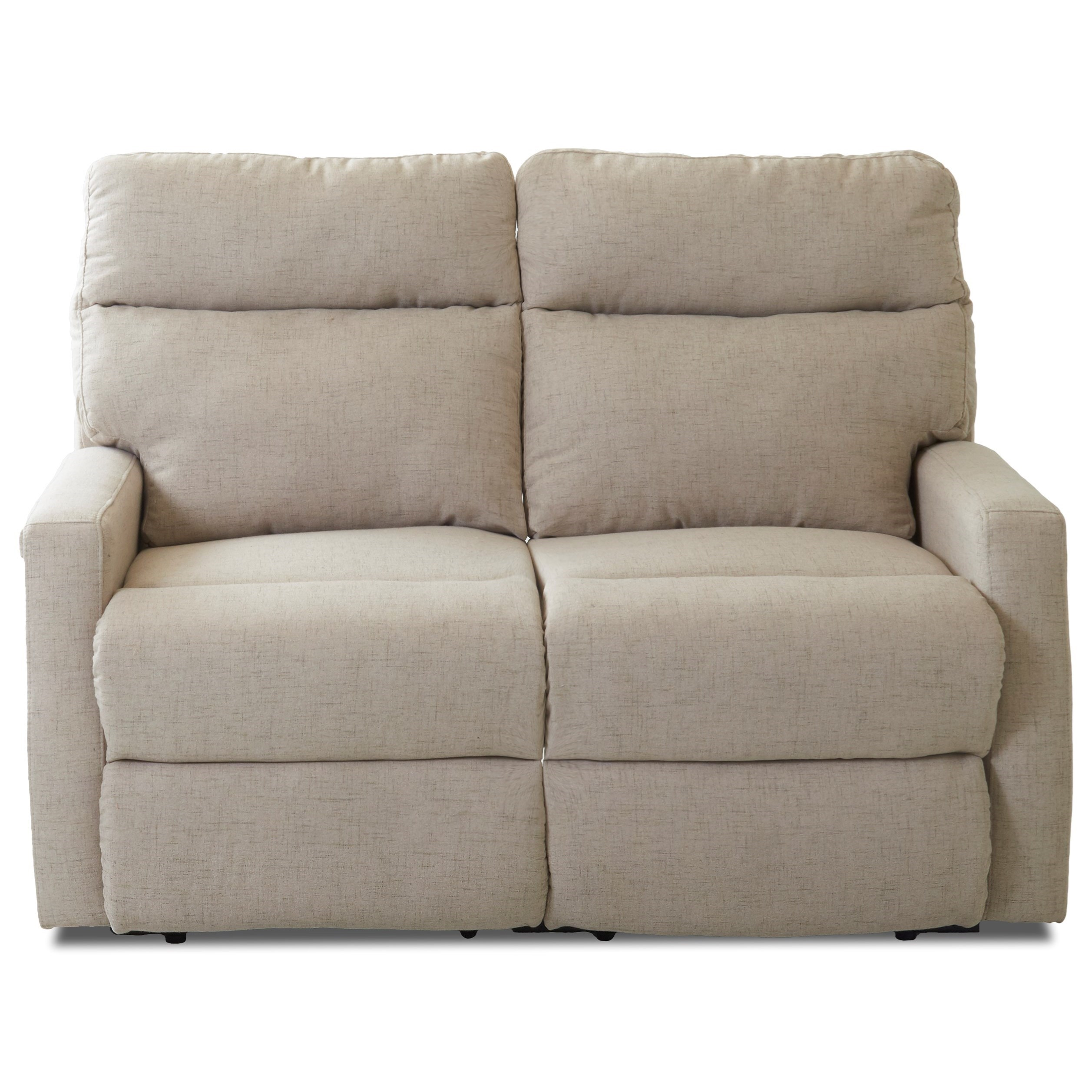 Reclining Loveseat with Track Arms