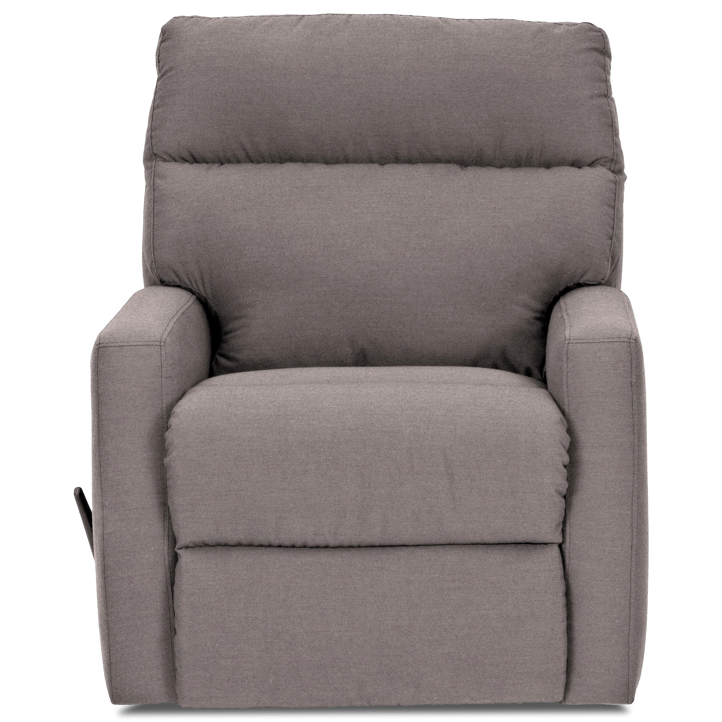 Swivel Gliding Reclining Chair with Soft Track Arms