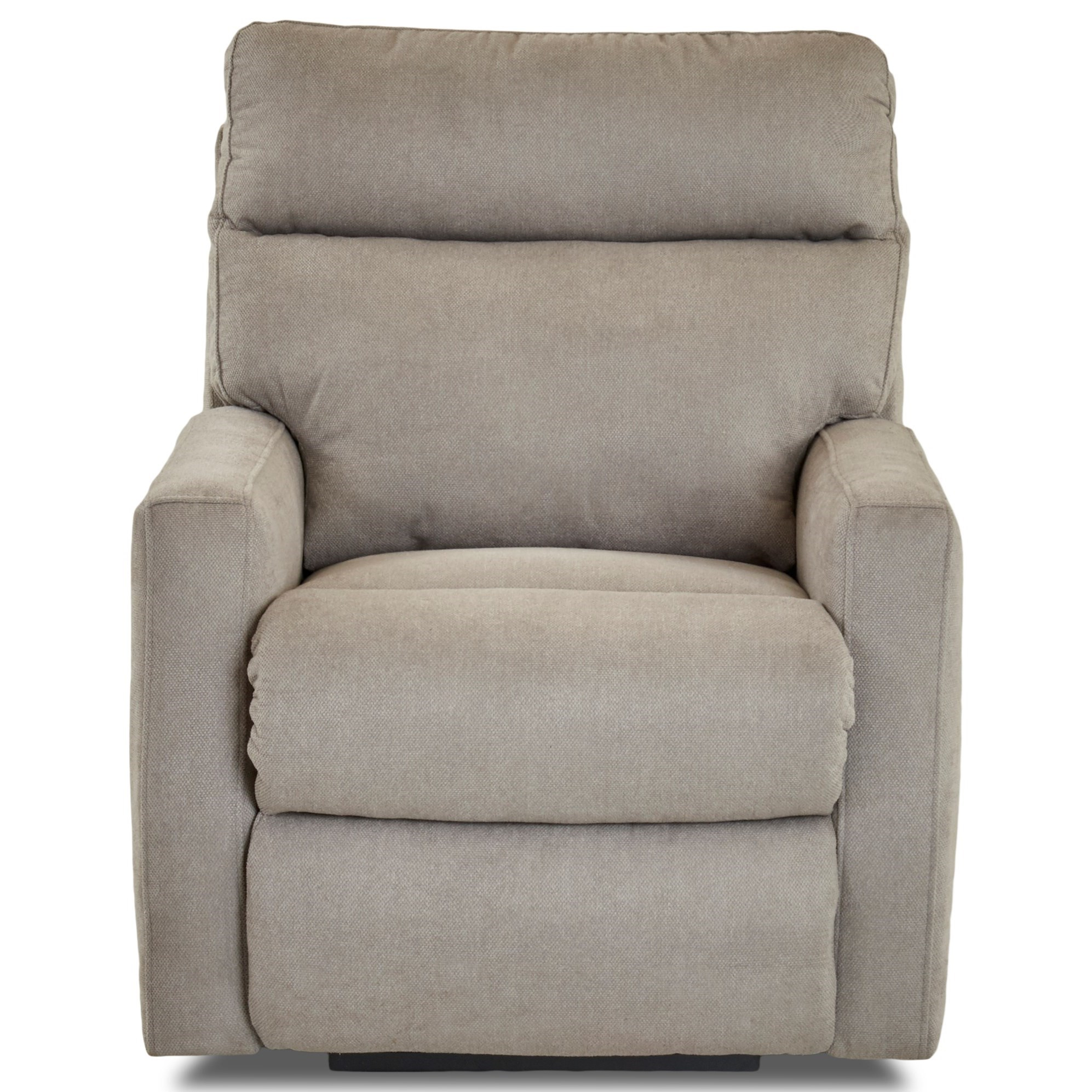 Swivel Rocking Reclining Chair with Soft Track Arms