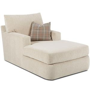 Klaussner Oliver Contemporary Chaise