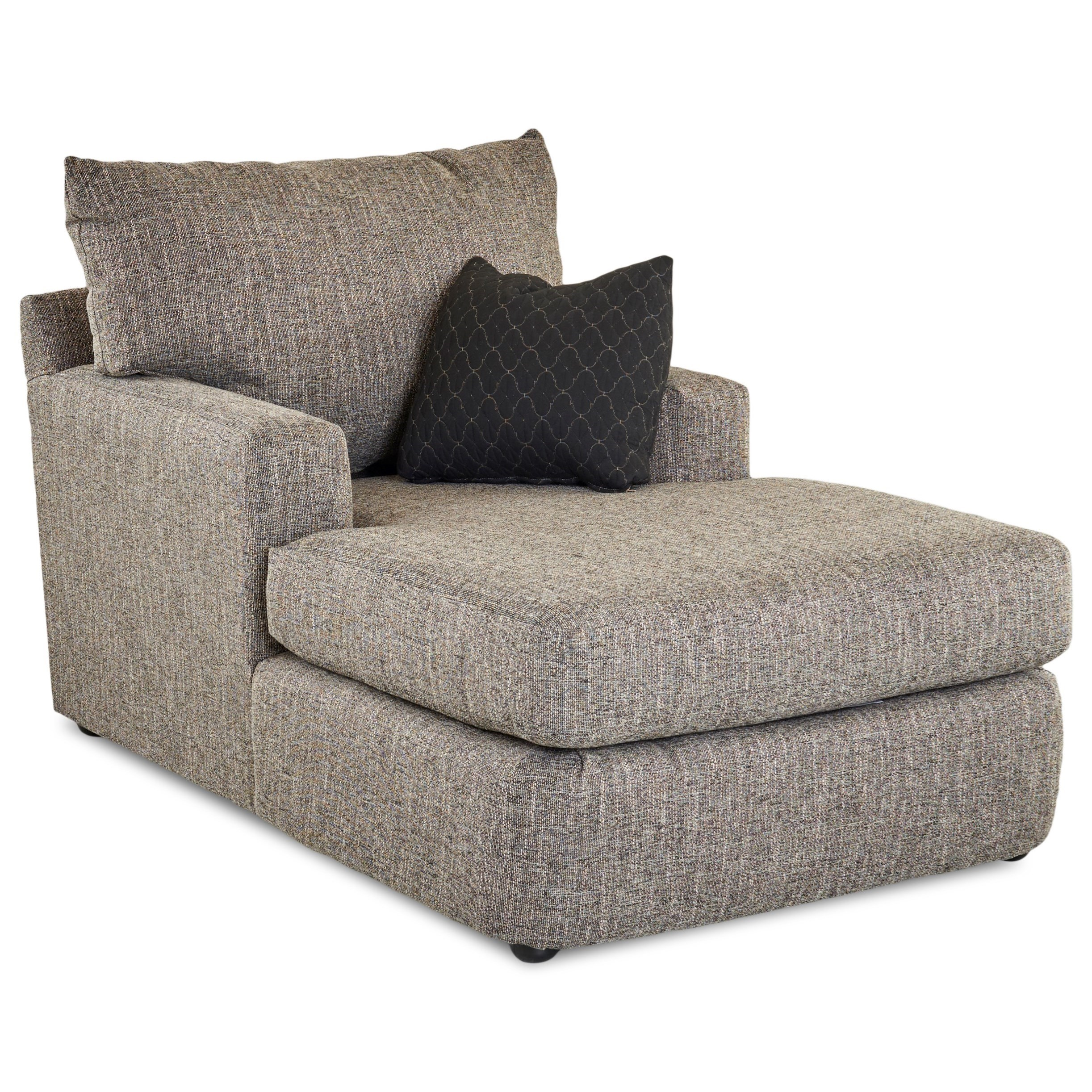 Contemporary Track Arm Chaise