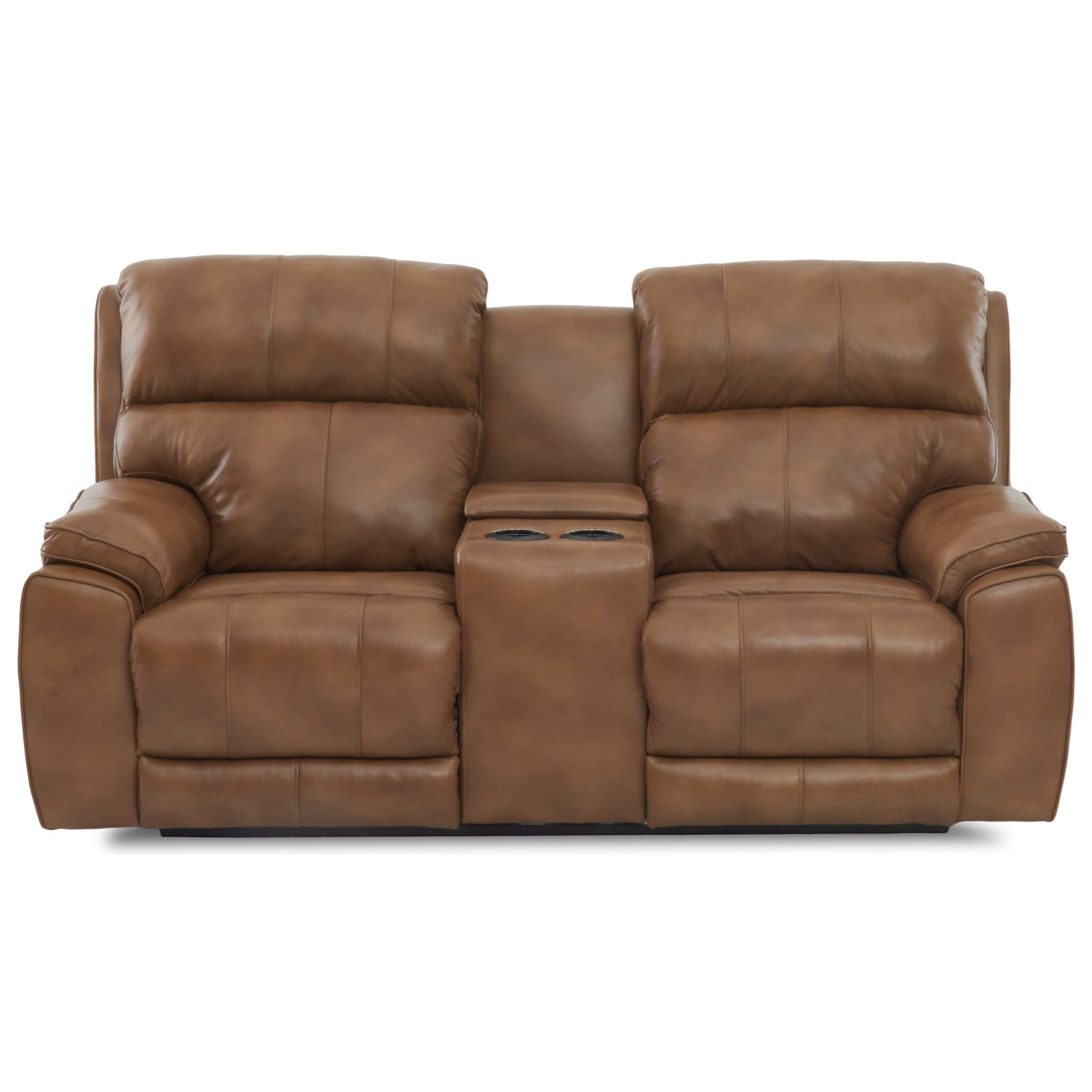 Power Reclining Console Loveseat with Power Head/Lumbar and USB Charging Ports