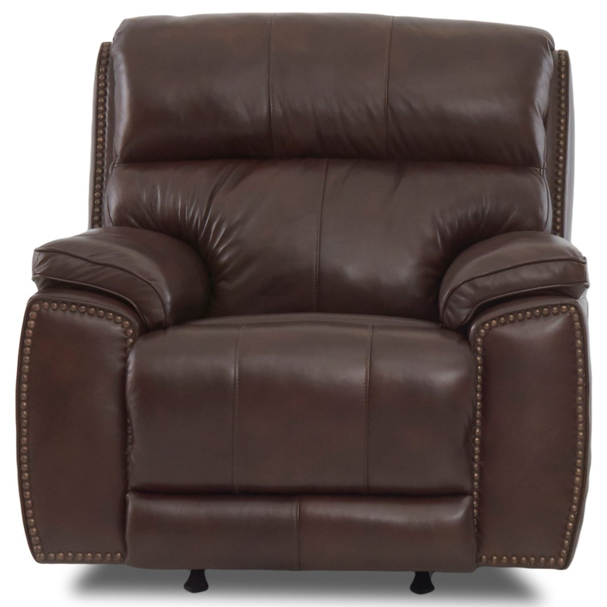 Reclining Chair with Nailheads