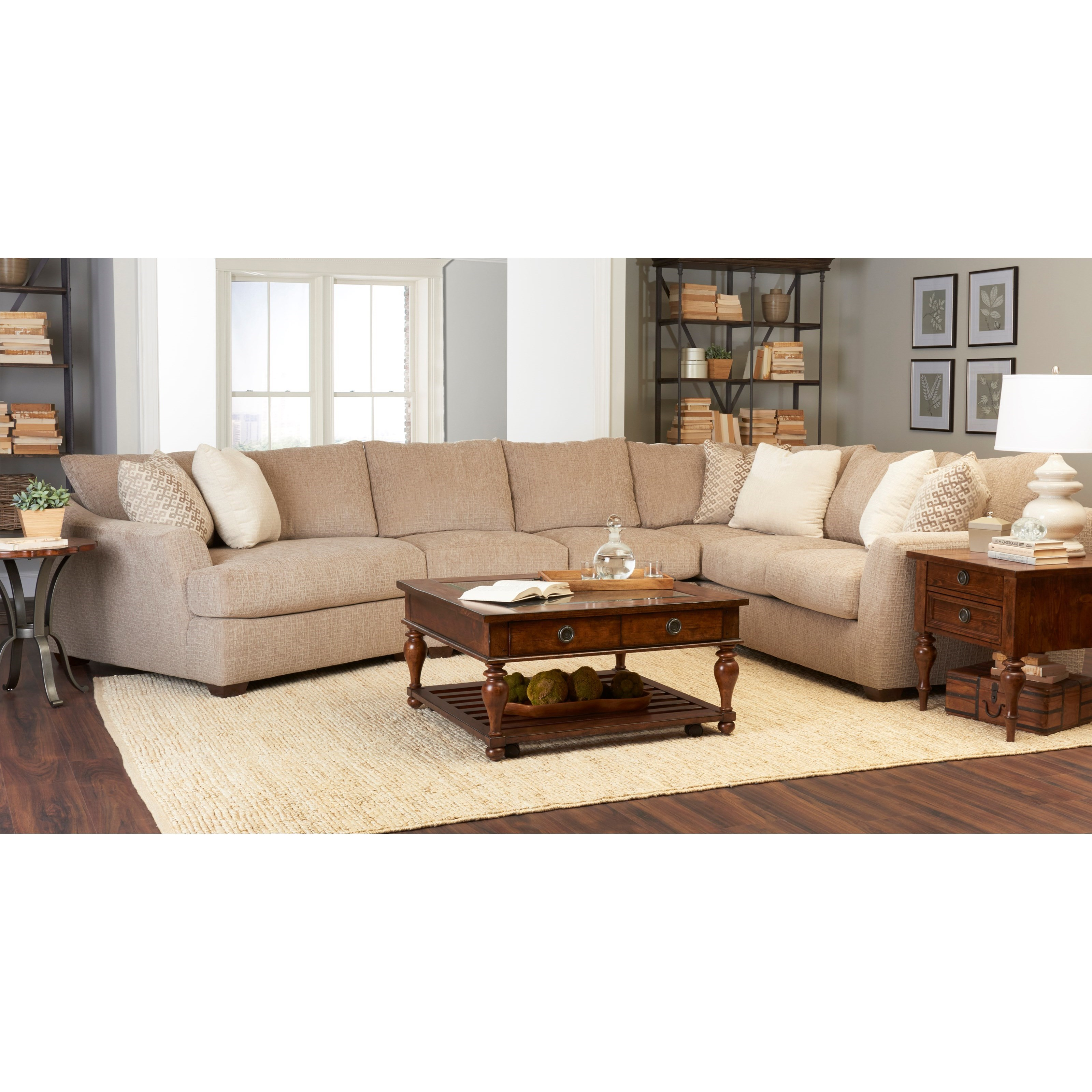 Pinecrest Sectional with LAF Cuddler
