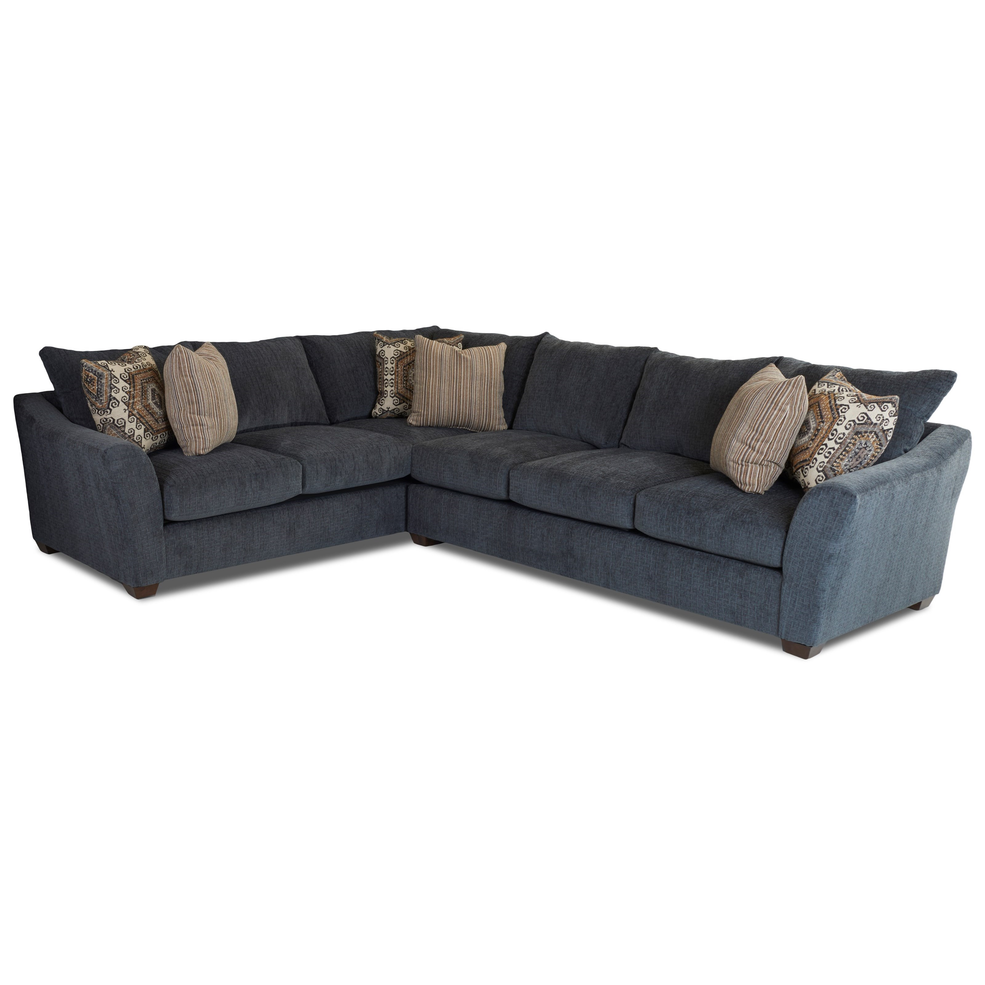 Two Piece Sectional Sofa with Left Corner Sofa by Klaussner | Wolf ...
