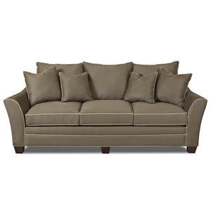 Klaussner Posen Oversized Microfiber Sofa