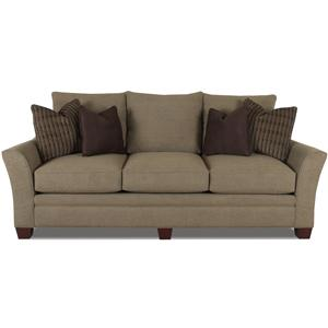 Klaussner Posen Stationary Contemporary Sofa