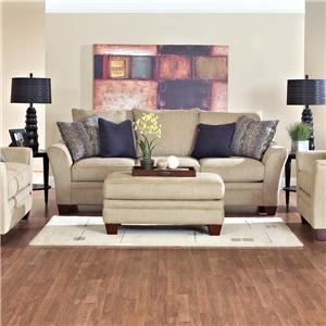 Simple Elegance Posen Stationary Contemporary Sofa