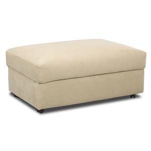 Klaussner Possibilities Storage Ottoman