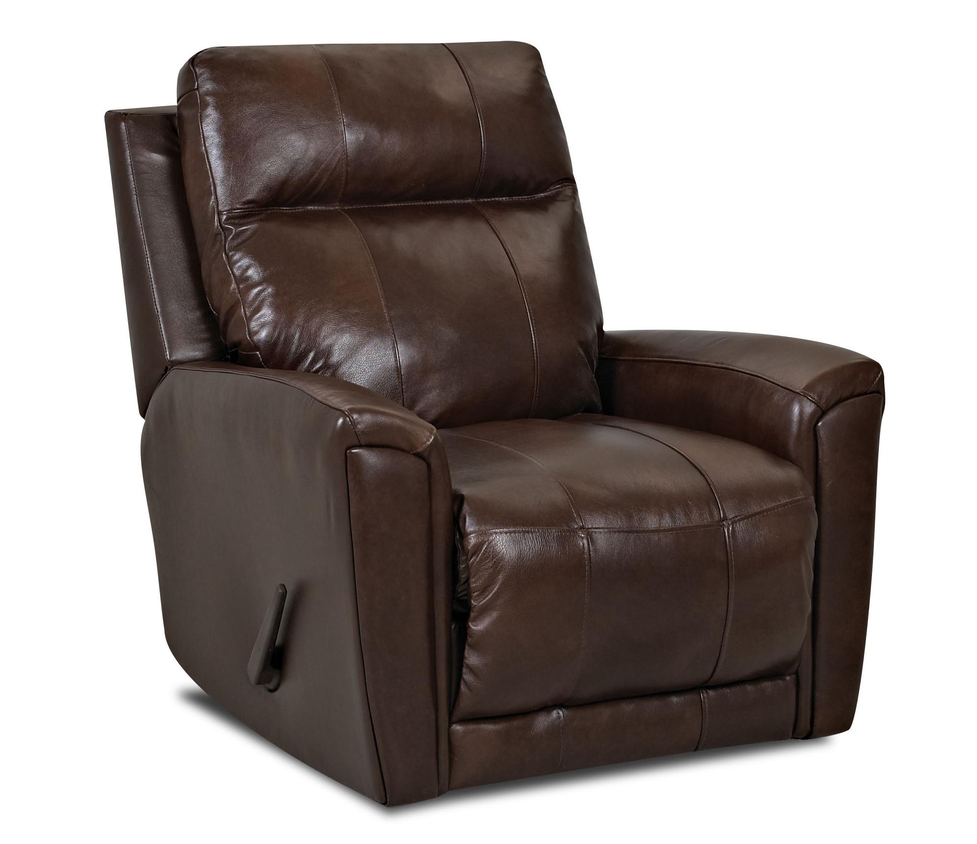Transitional Swivel Rocking Reclining Chair By Klaussner