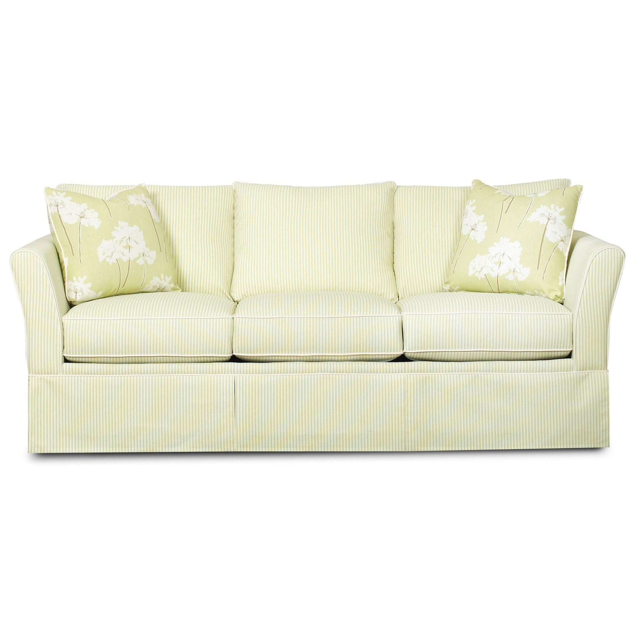 Casual Flare Armed Sofa