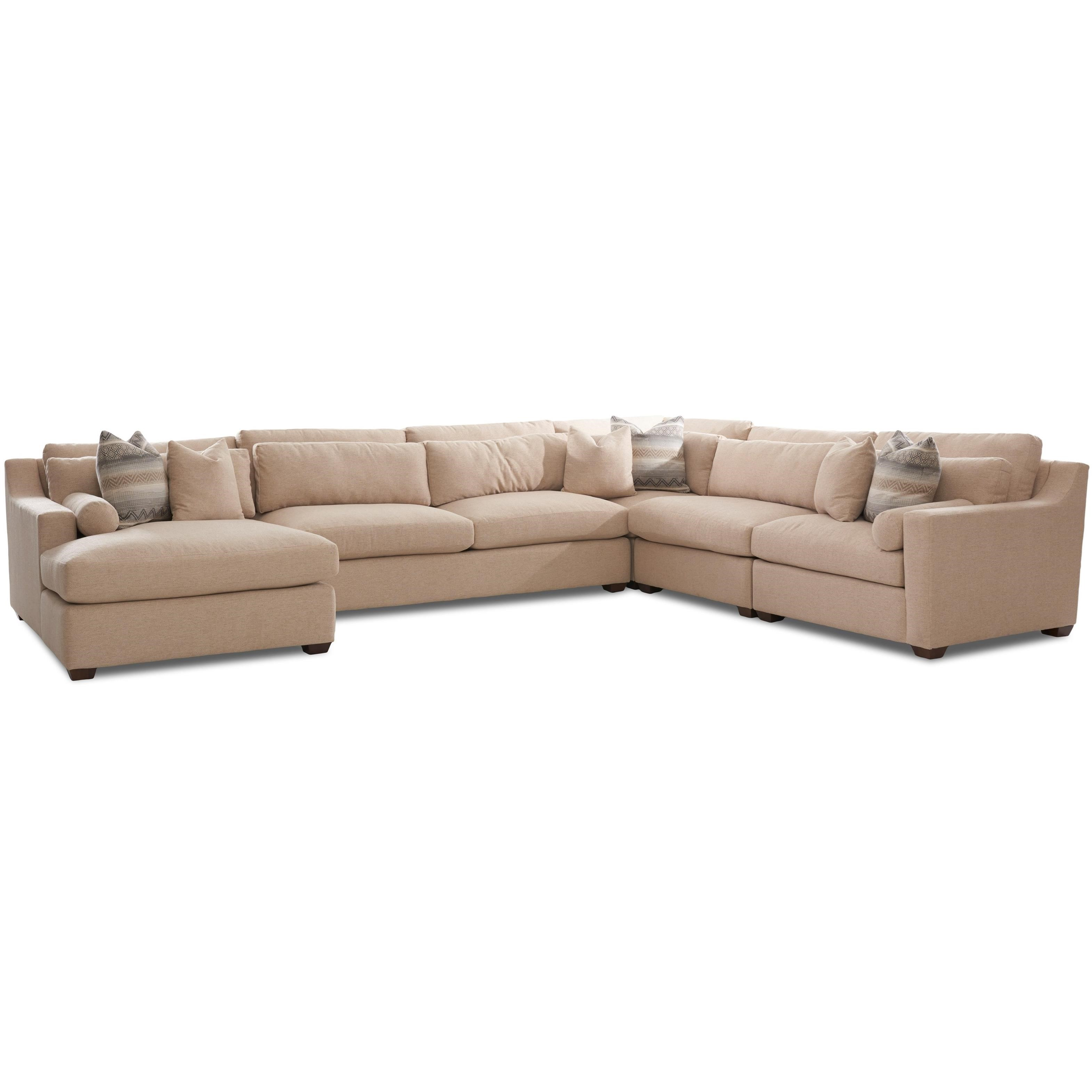 Contemporary Sofa Sectional with Left Facing Chaise Lounge