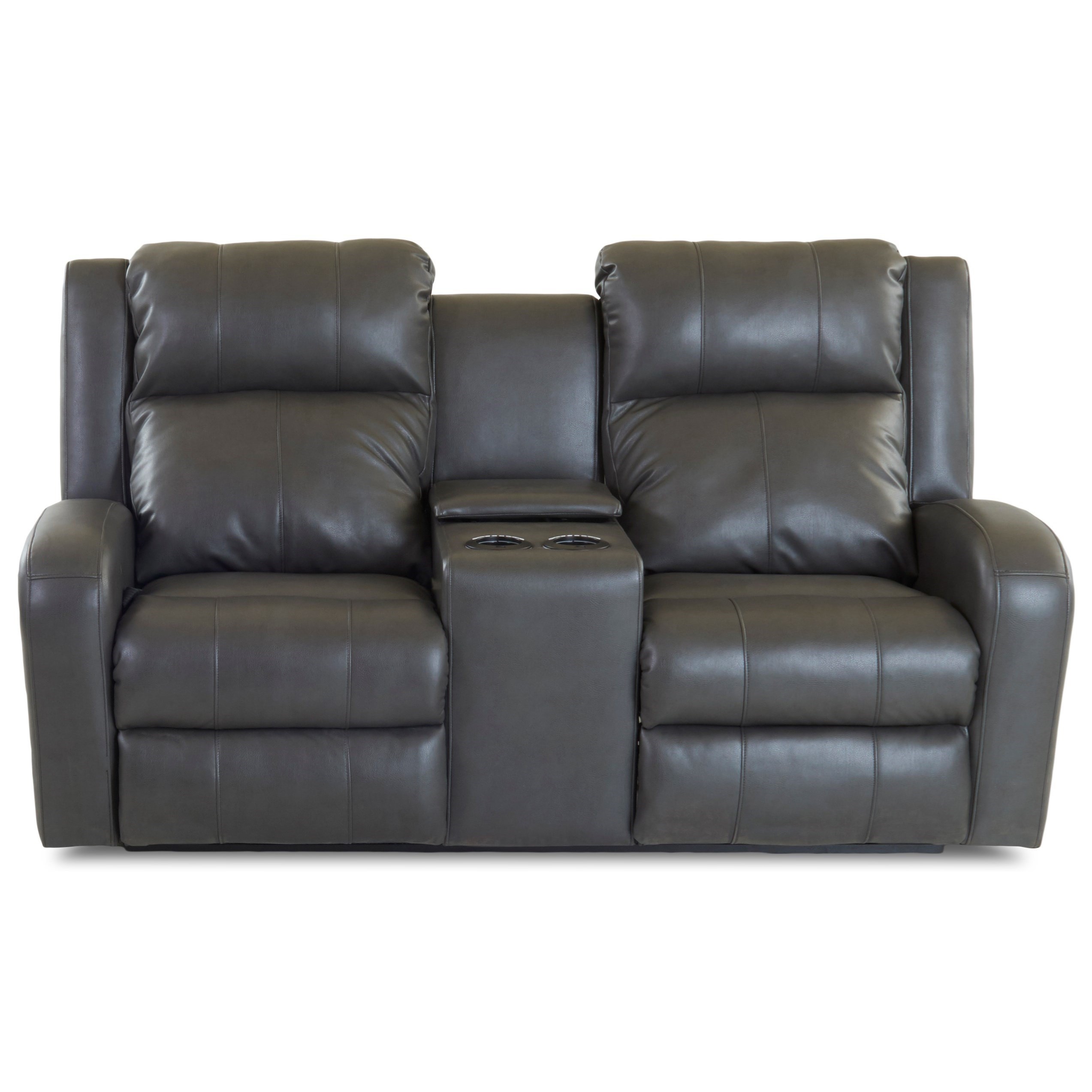 Casual Power Reclining Loveseat With Power Adjustable