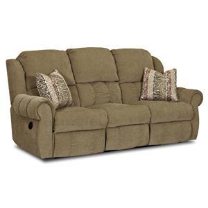 Simple Elegance Rowling Casual Reclining Sofa