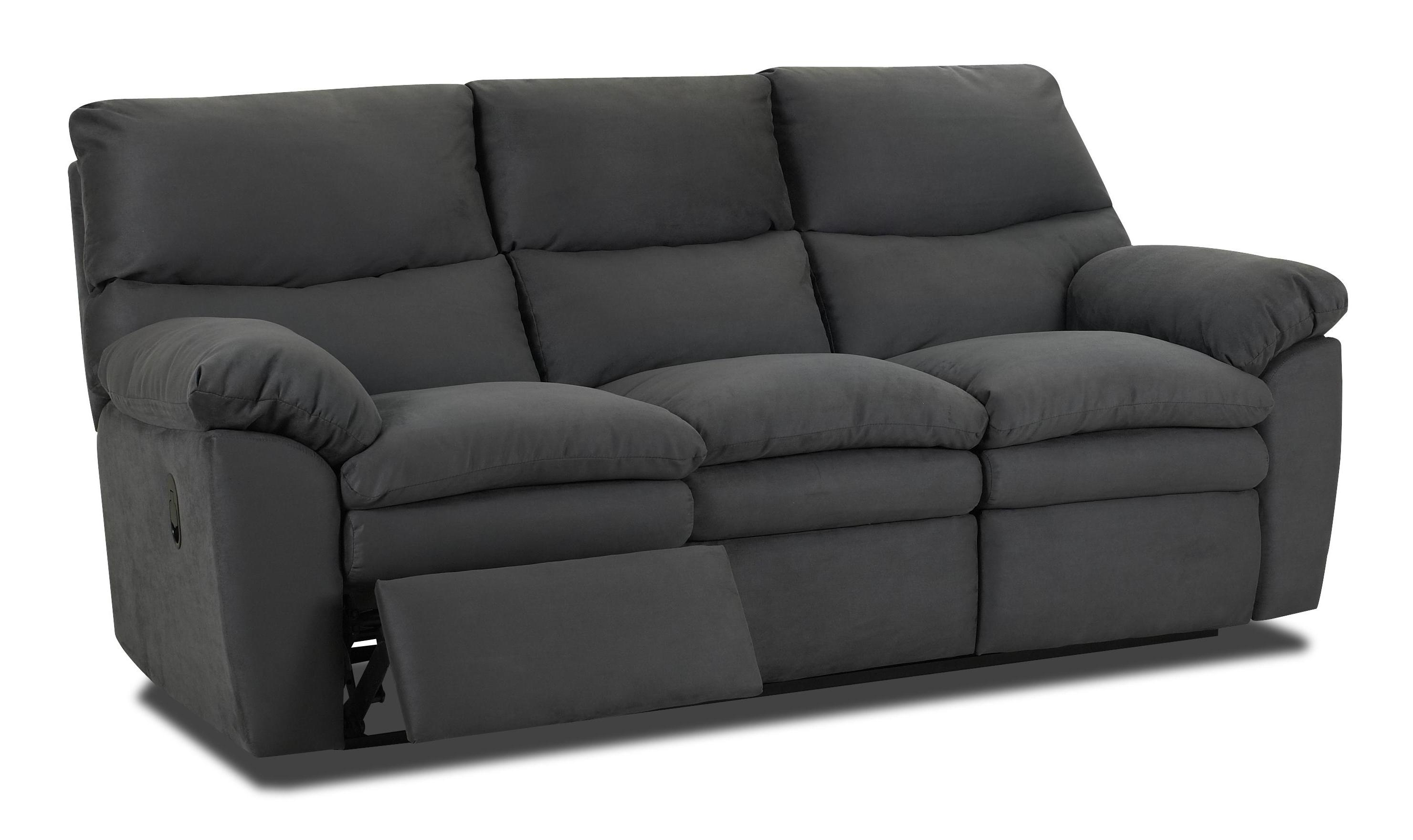 Contemporary Upholstered Reclining Sofa By Klaussner Wolf And Gardiner Wolf Furniture