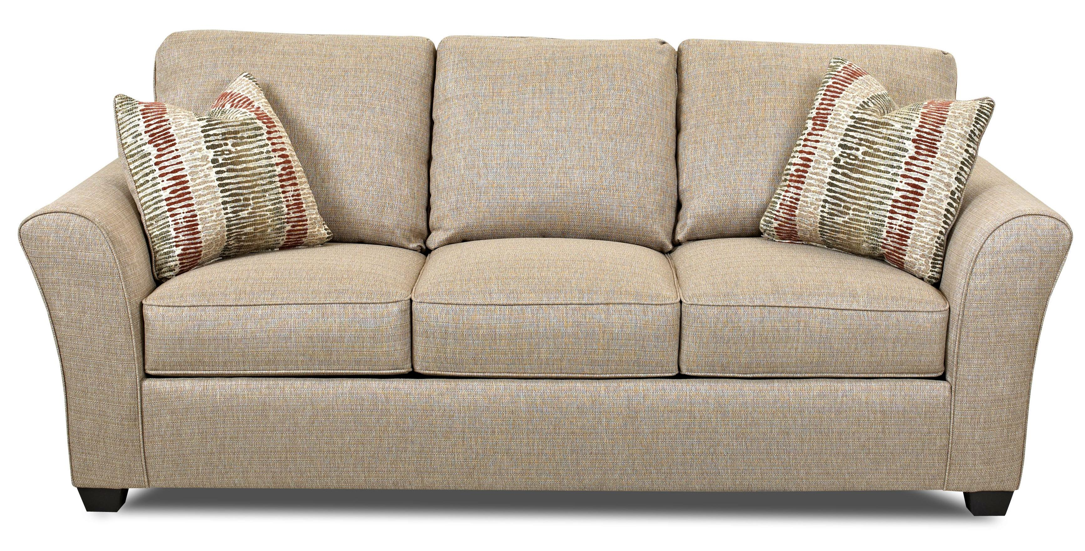 Transitional Dreamquest Queen Sleeper Sofa