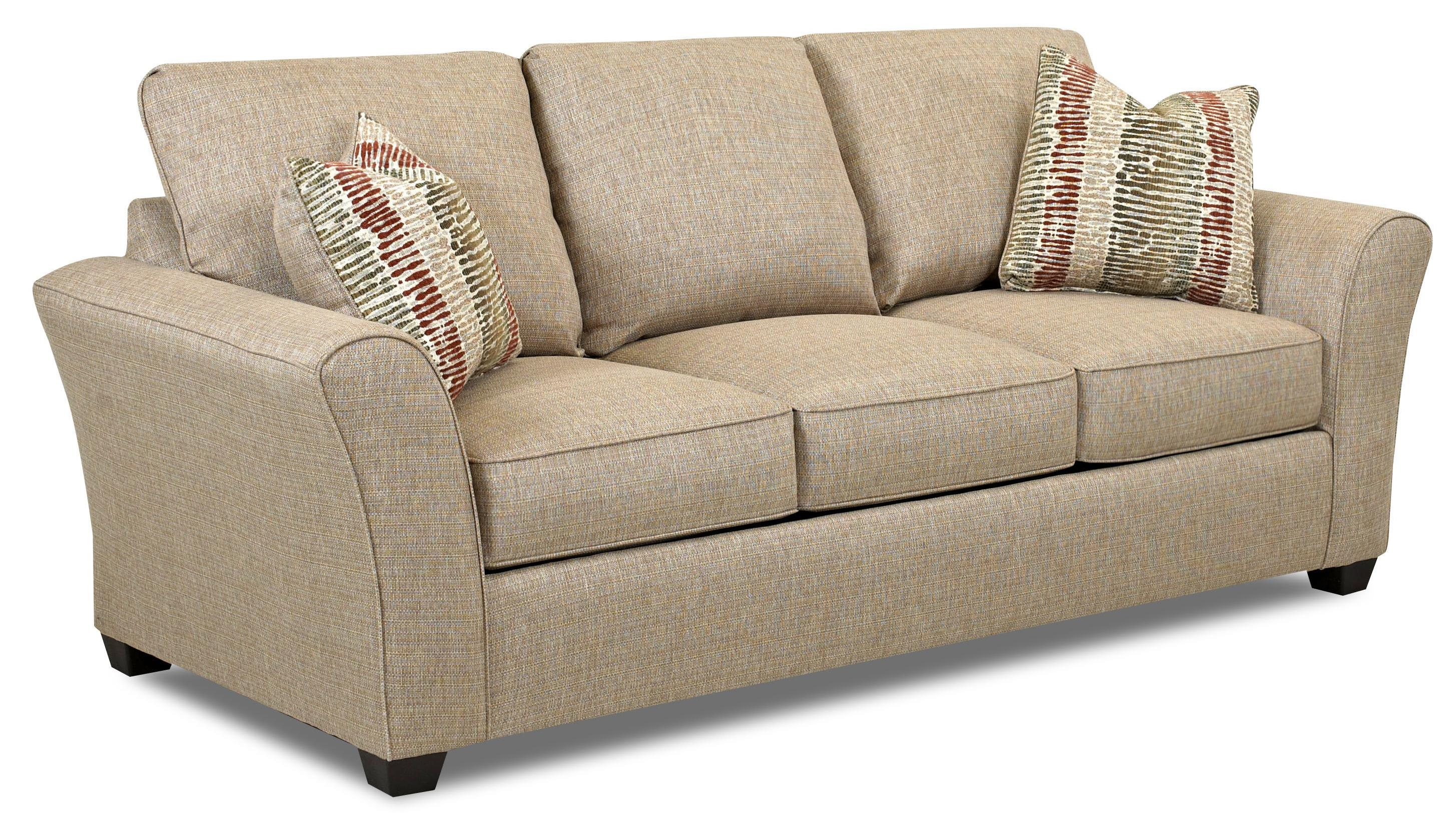 Transitional Dreamquest Queen Sleeper Sofa by Klaussner