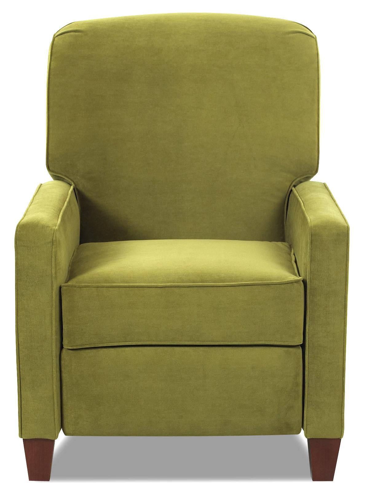 High Leg Contemporary Recliner By Klaussner