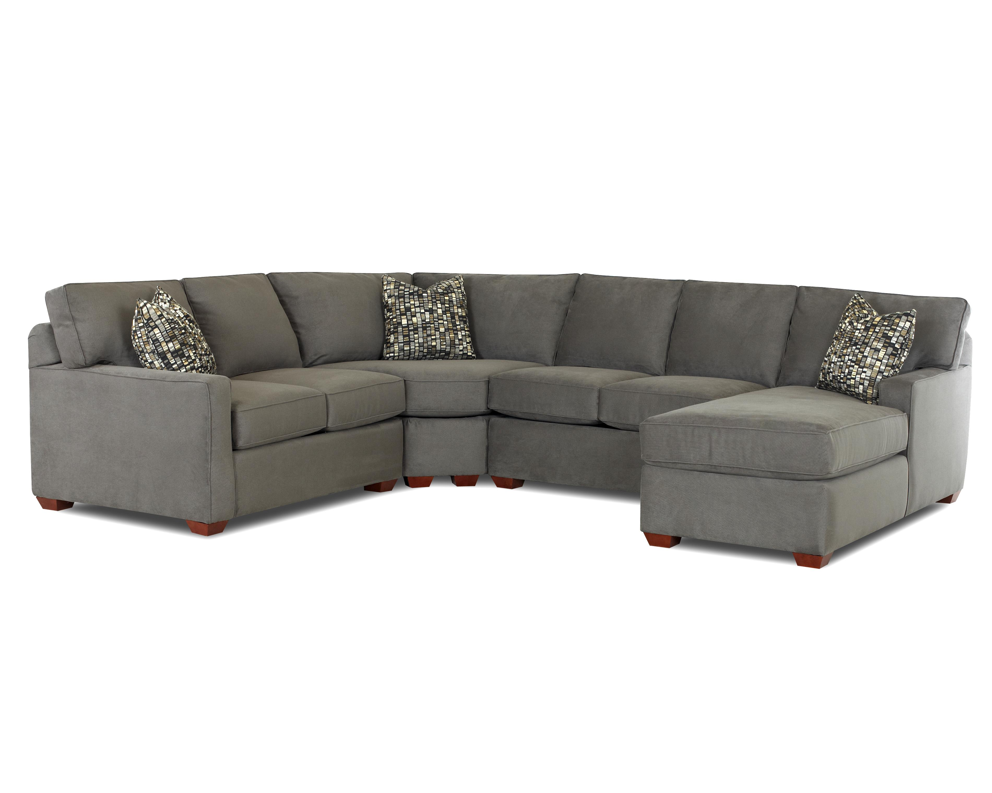 Contemporary L-Shaped Sectional Sofa with Right Arm Facing Chaise  sc 1 st  Wolf Furniture : right arm facing chaise - Sectionals, Sofas & Couches