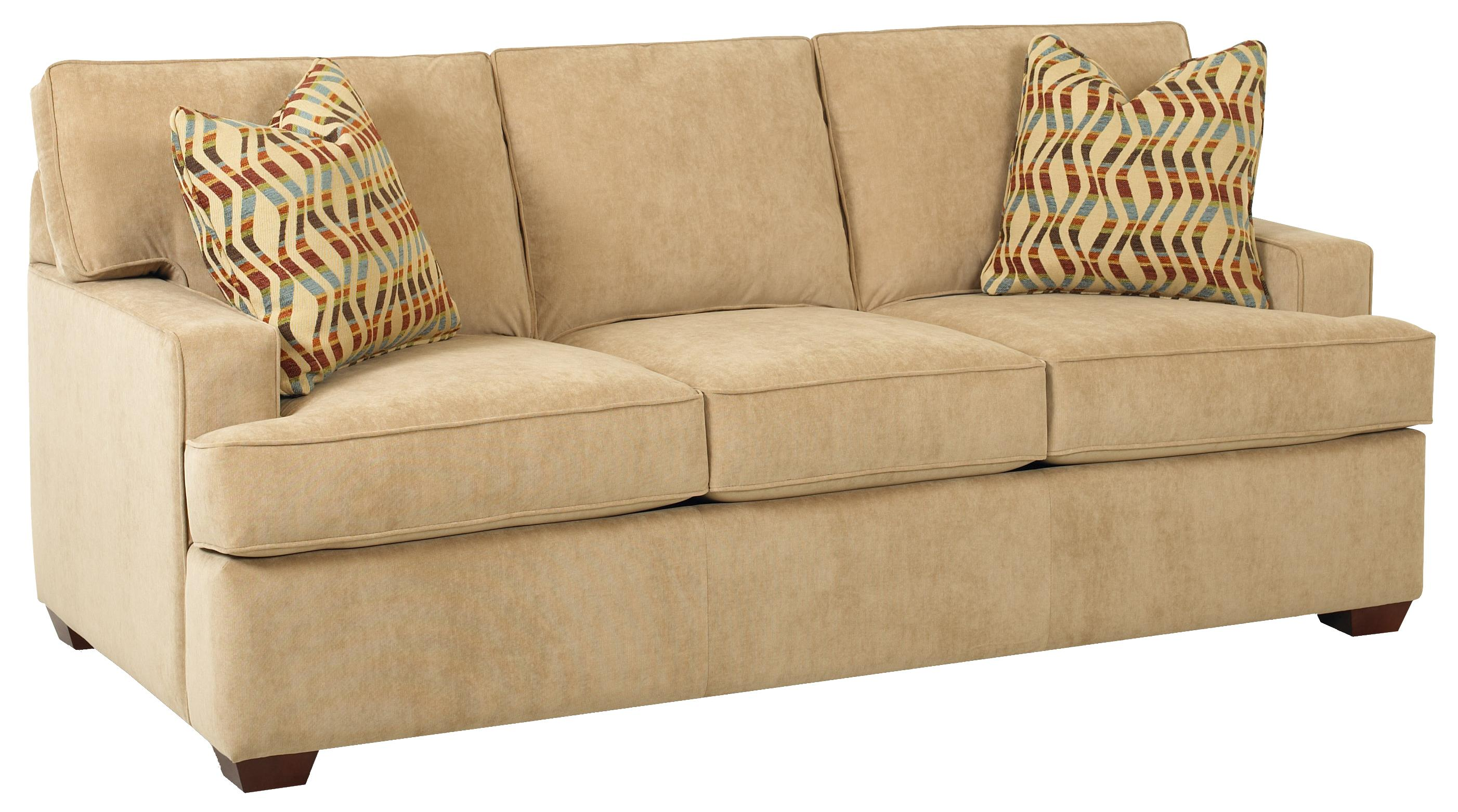 Contemporary Three Seat Sofa By Klaussner Wolf And Gardiner Wolf Furniture