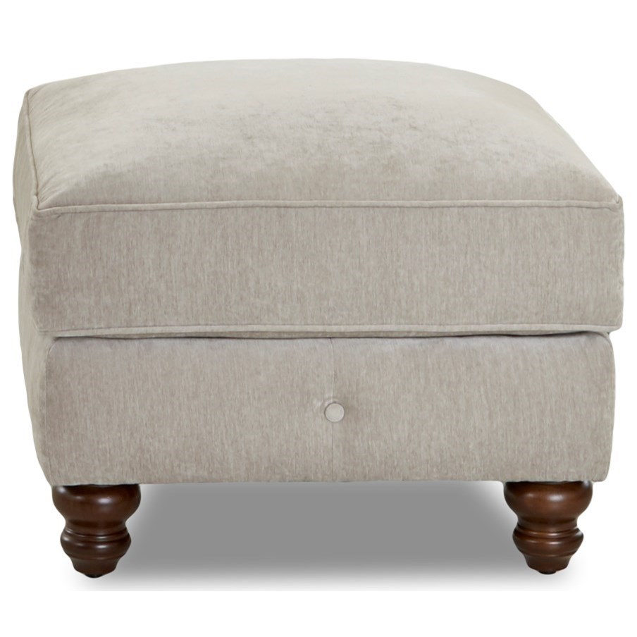 Ottoman with Buttons