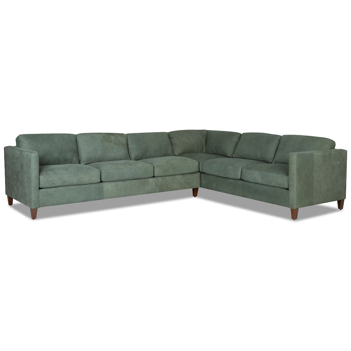 Contemporary 5-Seat Sectional Sofa w/ LAF Sofa by Klaussner ...