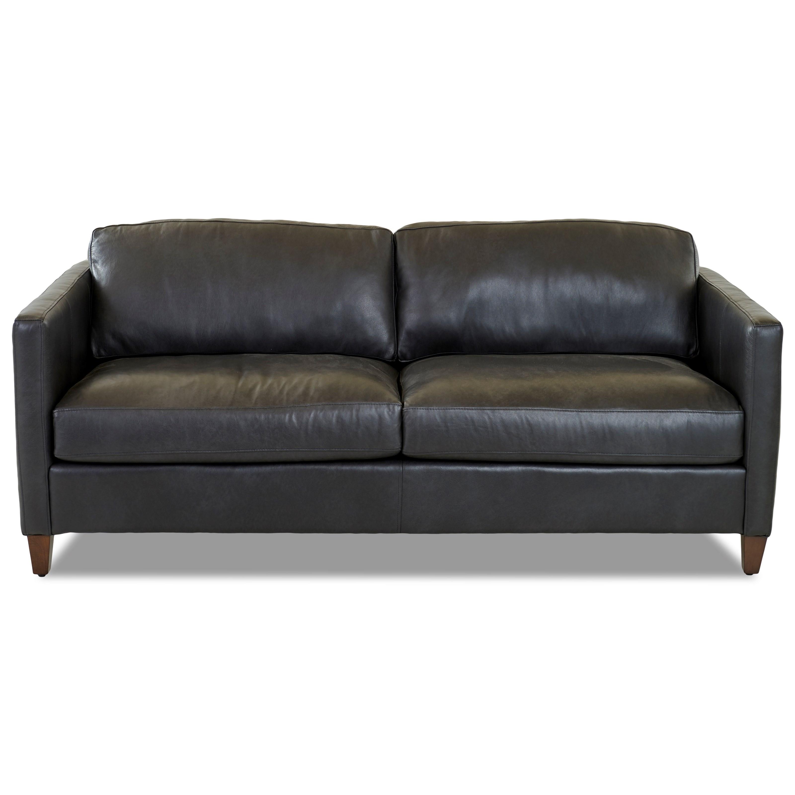 """Contemporary 78"""" Tuxedo Sofa"""