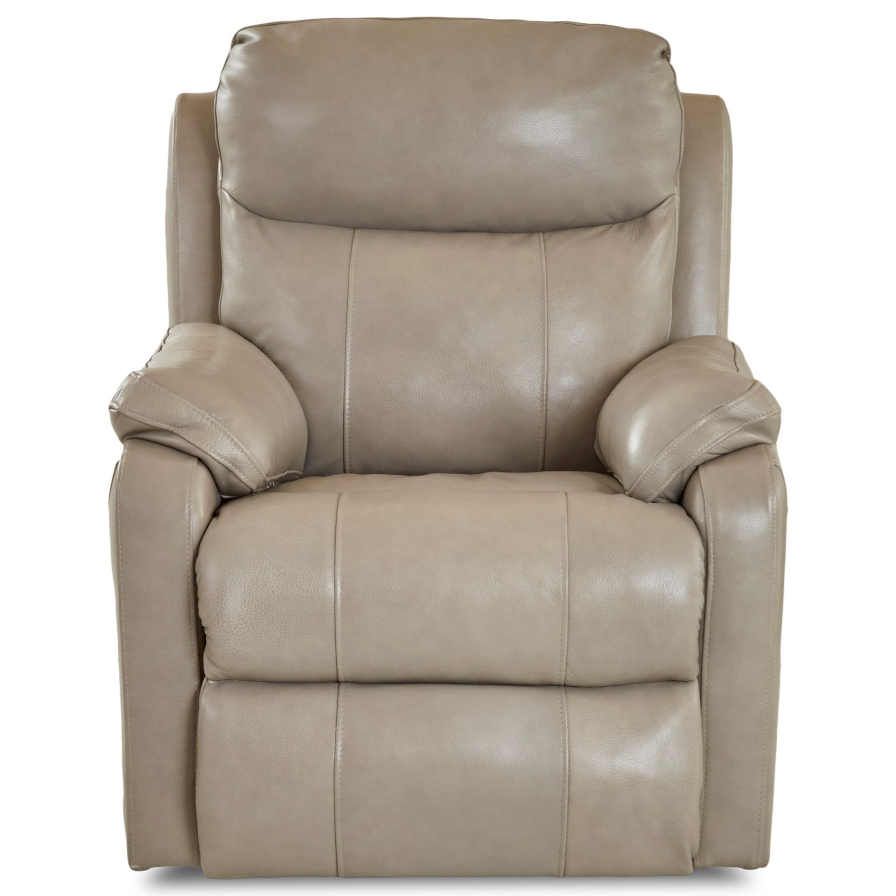 Casual Power Reclining Chair with USB Charging Port and Power Headrest & Lumbar