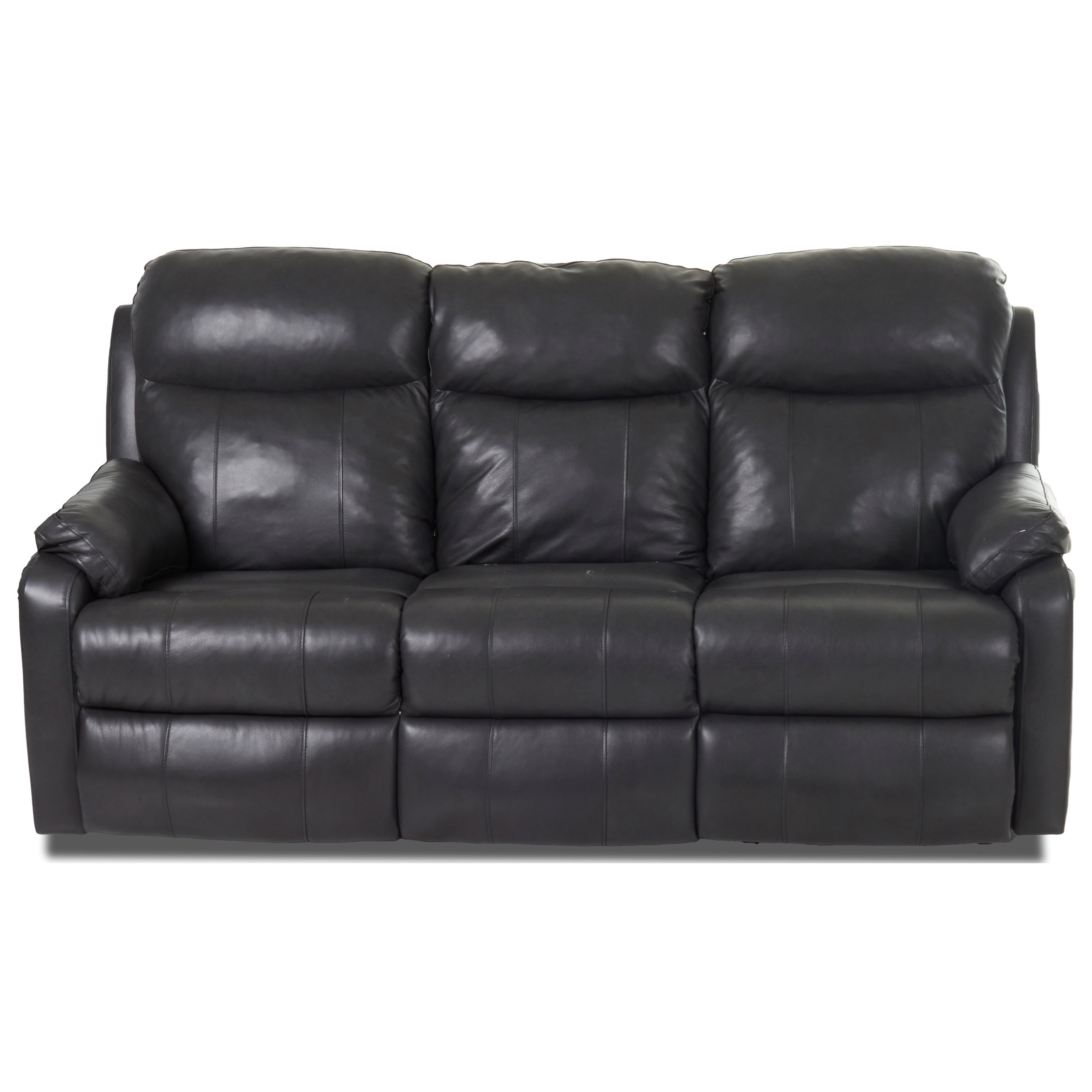 Casual Power Reclining Sofa with USB Charging Ports and Power Head & Lumbar