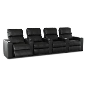 Simple Elegance Studio 4-Seater Power Sectional