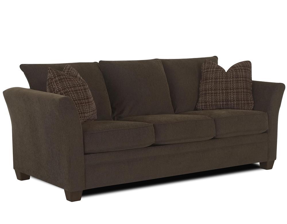 Contemporary Queen Air Coil Mattress Sofa Sleeper By