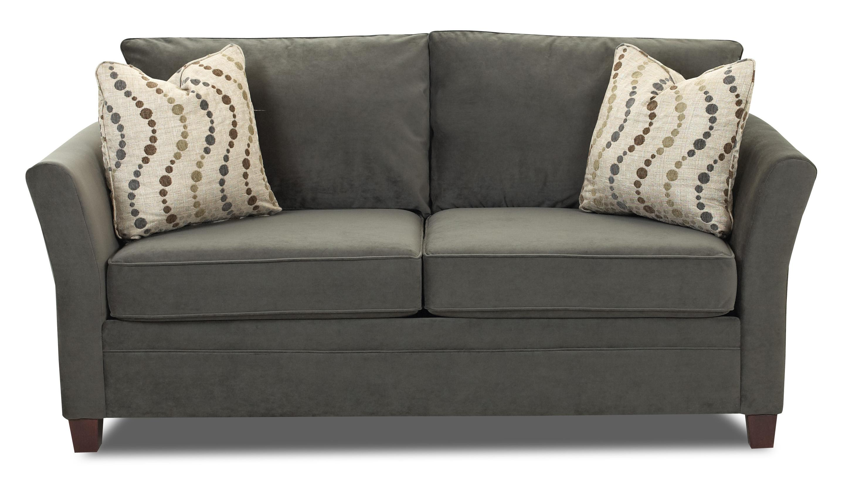 Delightful Contemporary Studio Size Sofa