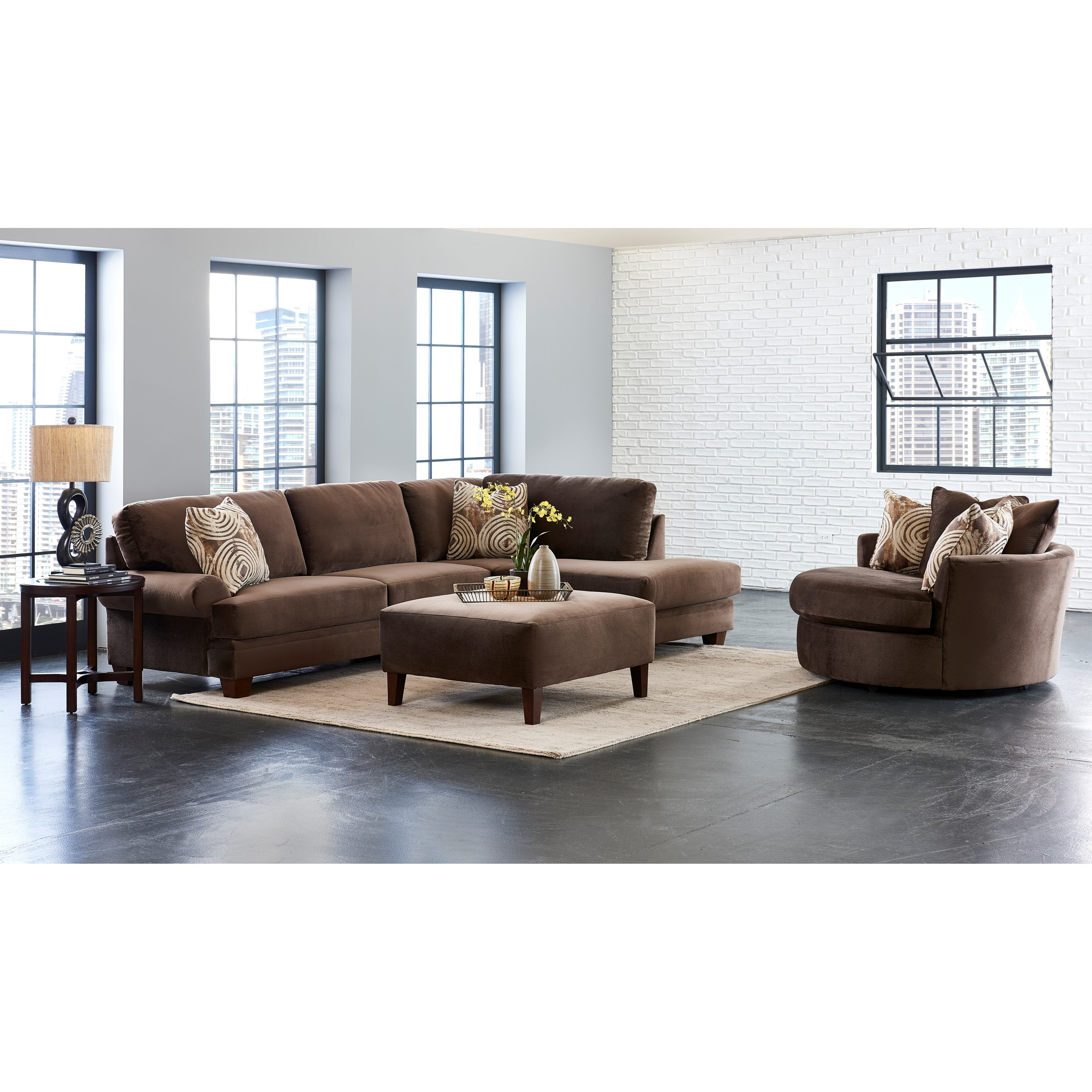 two piece sectional sofa with raf sofa chaise by klaussner w