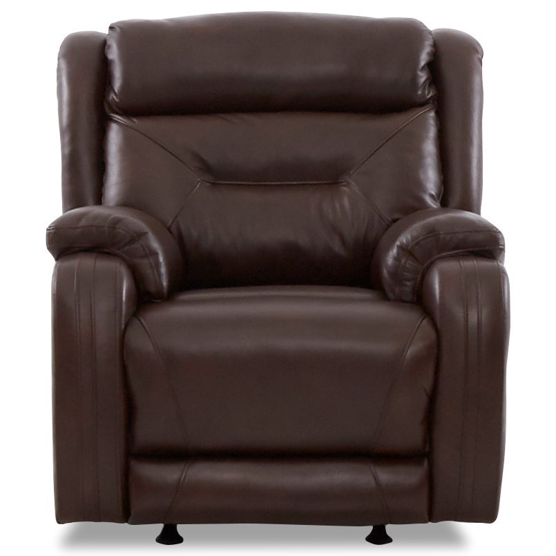 Casual Power Reclining Chair with Extra Long Legrest and Power Headrest