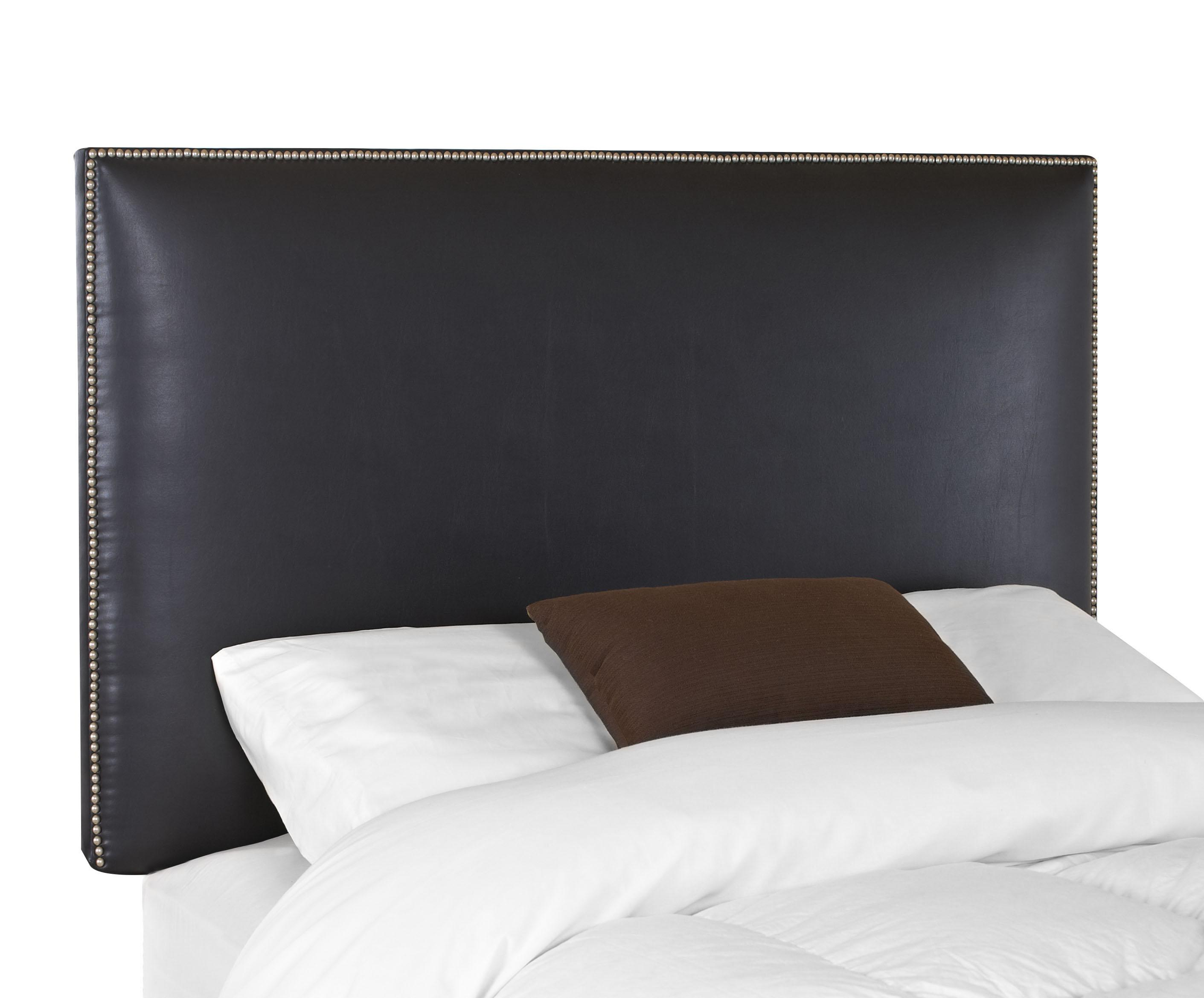 Glade Twin Upholstered Headboard with Nail Head Trim