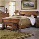 Klaussner International Urban Craftsmen King Sleigh Bed - Item Number: 340-066