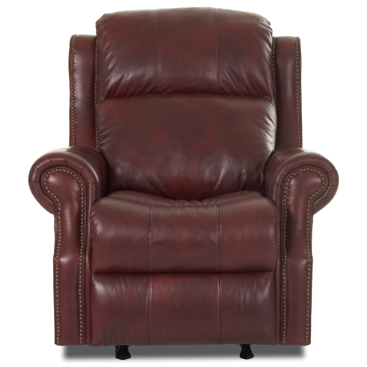Traditional Power Reclining Chair with Power Tilt Headrest and USB Port