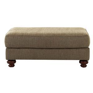 Belfort Basics Walker Upholstered Ottoman