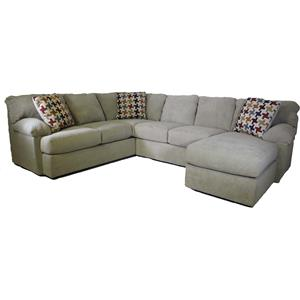 Klaussner Walton Sectional