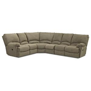 Klaussner Weatherstone Power Reclining Sectional