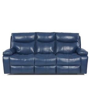 Klaussner Wilson Contemporary Power Reclining Sofa