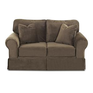 Klaussner Woodwin Loveseat