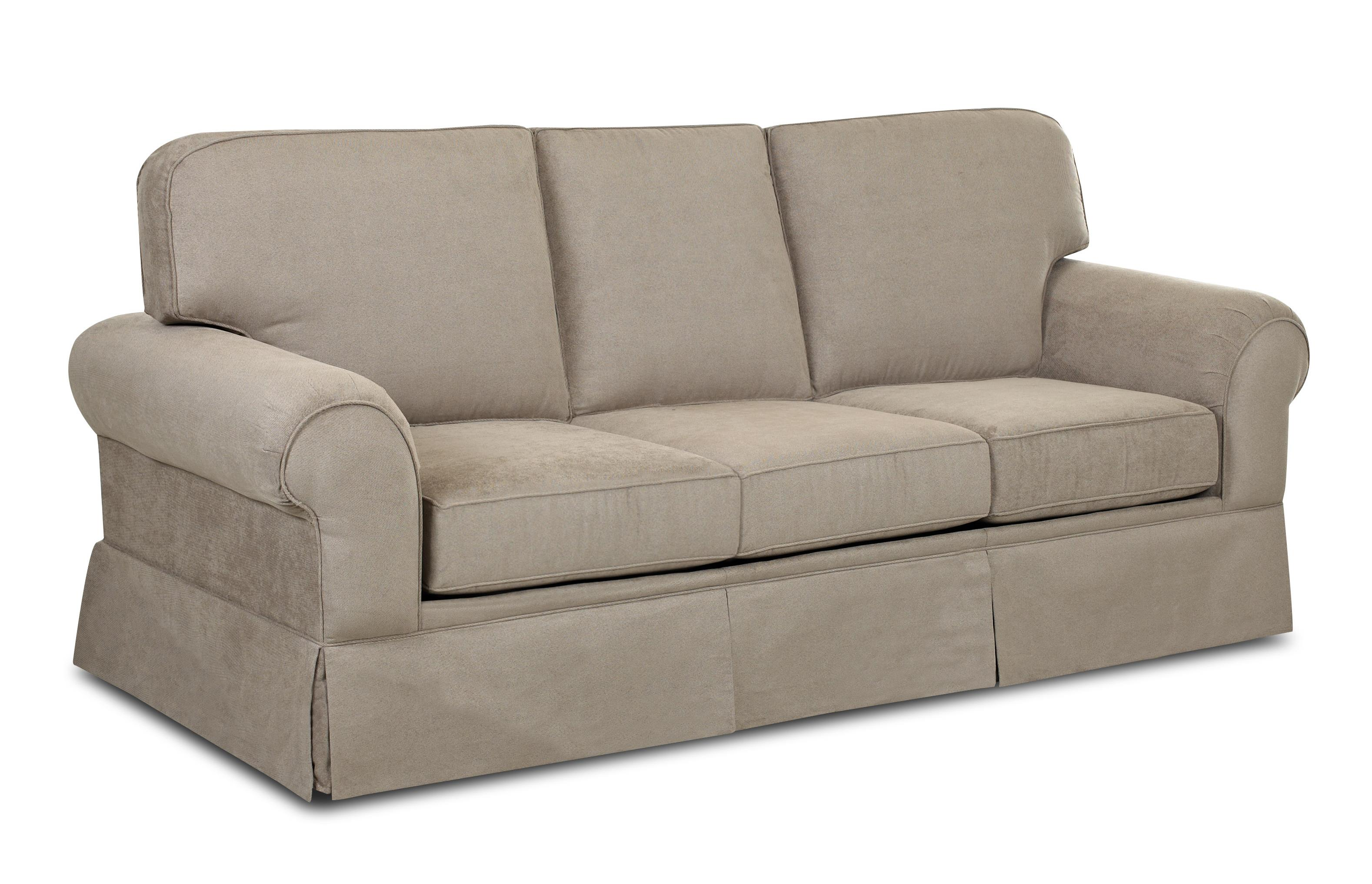 Casual Skirted Sofa By Klaussner Wolf And Gardiner Wolf