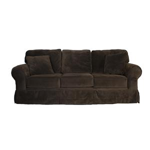 Klaussner Woodwin Microfiber Sofa