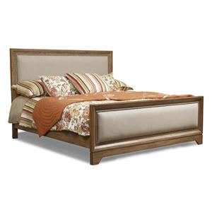 Klaussner International Bayboro King Upholstered Bed