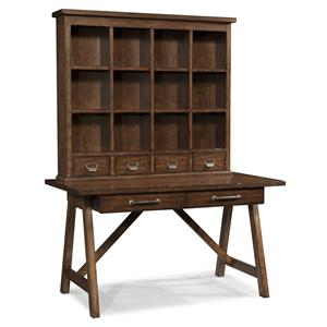 Carolina Preserves by Klaussner Blue Ridge Desk and Hutch