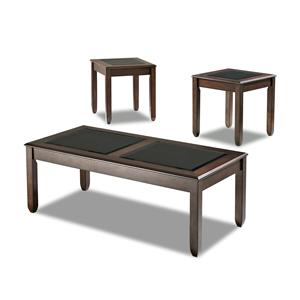 Simple Elegance Easton 3 table pack, 2 end,1 cocktail