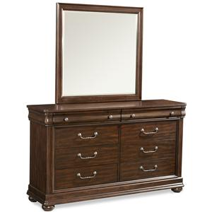 Simple Elegance Parkview Dresser and Mirror