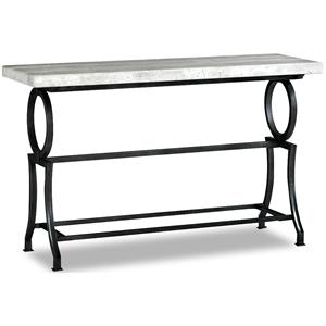 Klaussner International Roca Blanca Sofa Table