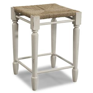 Carolina Preserves by Klaussner Sea Breeze White Desk Stool